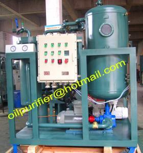 China EX Lube Oil break emulsification turbine oil cleanse machine wholesale