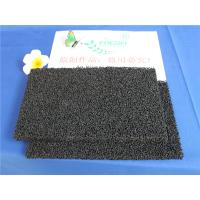China 10 - 60 ppi PU Polyurethane Activated Carbon Air Filter Sponge For Ordor Gas wholesale