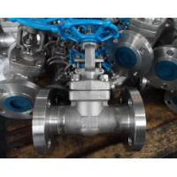 China F304 High Pressure Forged Gate Valve Threaded / Butt Weld / Socket Weld End/Bolted bonnet design API602 on sale