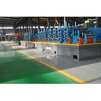 China Super Carbon Steel ERW Pipe Mill , High Precision Square Tube Mill Machine wholesale