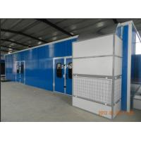 China Infrared Downdraft Furniture Spray Booth Equipment , 6KW 380V wholesale