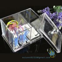 China acrylic cosmetic organizer boxacrylic magazine organizer wholesale