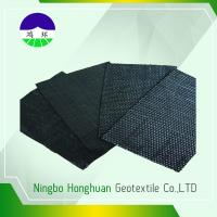 China Recycled / Virgin Geotextile Woven Fabric Pp 160kn Split Film For Railway Project wholesale