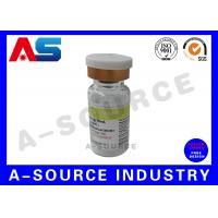 Round Pre - printed  10mlVial Labels  For Packaging Holographic With Vial Box Printing