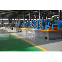China Large Size Industrial Tube Mills , Friction Saw Cutting Square Tube Mill wholesale