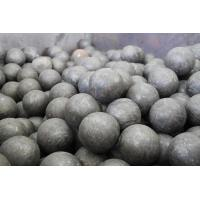 China Carbon / Alloy Steel Forged Steel Ball GCr15 Grade Steel Grinding Balls For Cement Plants on sale