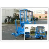 China Hydraulic Trailer Mounted Boom Lift 8 Meter For Outdoor Maintenance Work wholesale