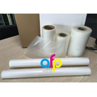 China PET Polyester Roll Laminating Film SGS Approval Double Side Corona Treatment wholesale