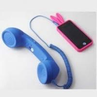 China Blue 2.5m durability Anti Radiation coco phone Retro Handsets For Iphone 4 / 4S wholesale
