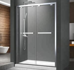 China Easily DIY Installation Aluminum Shower Enclosure , Shower Aluminum Frame wholesale