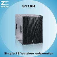 """China S118H 18"""" Powerful Subwoofer wholesale"""
