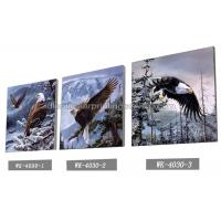 China Frameless PET 3d Lenticular Image / Animal 3d Lenticular Christmas Cards For Decoration wholesale