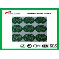 China 2 Layer Lead Free HASL Custom Printed Circuit Board PCB Material FR4 1.6MM Green Solder Mask wholesale