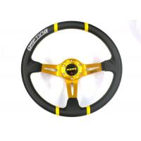 Quality Black Heated Steering Wheel Cover With Not Easy Peeling Breathable Fabrics for sale