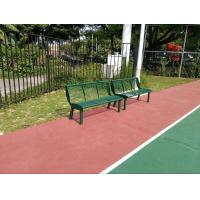 China Eco Friendly Playground Equipments Green Outdoor Chair For Park wholesale