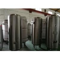 Quality 80 Gallon Stainless Steel Compressor Air / Gas Storage Tanks 1.0MPa Pressure for sale