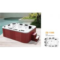 China Outside home whirlpool tub massage jets for family use with steps wholesale
