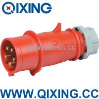 China Qixing industrial plug power supply 400V 63A  4P wholesale