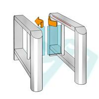 China High-tech Bi - Direction Security Swing Arm Barriers Intelligent Access Management Device wholesale