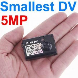 China Thumb-Size Smallest 5MP Micro HD DVR Spy Camera DV Digital Video Voice Webcam Recorder wholesale