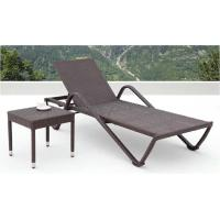 China rattan chaise lounger furniture -4016 wholesale