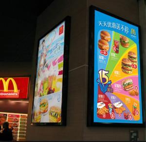 China UV Resistant 10 Units X A1 LED Advertising Light Box , Backlit LED Lightbox wholesale