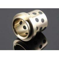China Copper Cast Bronze Bearings / Flanged Bronze Bearings -250~+400℃ wholesale