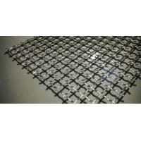 China Lock Crimped Vibrating Woven Wire Screen Flat Panel High Loading Capacity wholesale