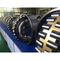 China GCr15 Self Aligning Roller Bearing With Machined Brass Cage / Tapered Bore wholesale