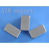 China Permanent n35 neo block magnet wholesale