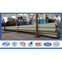 China 500kg Q345 Steel Electrical Power Pole With Long Life For Power Accessories wholesale