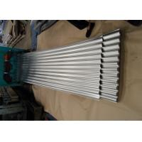 China Galvanized Corrugated Roofing Sheets , Corrugated Steel Roof Panel For Wall wholesale