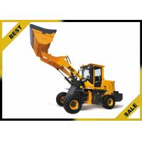 China Small Wheel Tractor Front End Loader 2.0t Capacity Hydraulic Joysticks Control wholesale