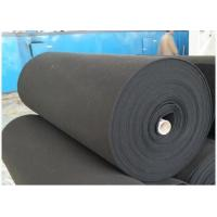 China 5-10 mm Thick Activated Carbon Filter Sheets For Painting Booth 250-600g/M2 wholesale