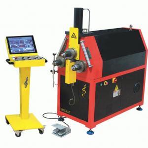 China CNC Exhaust Pipe Bender Machine High Accuracy Roll Hydraulic Bending Machine wholesale