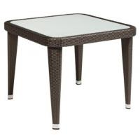 Quality Outdoor furniture teak top side table--16082 for sale