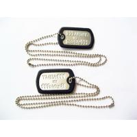 China Fashionable Metal Dog Tags , Personalized Engraved Dog Tags For People wholesale