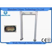 China 18 Zone Door Security Guard Metal Detector Airport Body Scanner With High Sensitivity wholesale