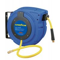 China Plastic Retractable Goodyear Hose Reel / Air Compressor Hose Reel With 3/8''X50' Hose wholesale