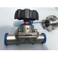 Quality High quality stainless steel sanitary pneumatic diaphragm valve 316L DN25 Tank for sale