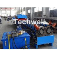 China 2 In 1 Metal Stud Roll Forming Machine , Sheet Metal Roll Forming Machines wholesale