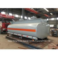 China Hydrochloric Acid Tank Body For Lorry Trucks Steel Lined PE 16mm -18mm  8CBM- 25CBM wholesale