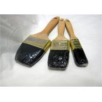 China Wooden Handle Flat Wall Paint Brush , 2 Inch / 3 Inch Professional Paint Brushes wholesale