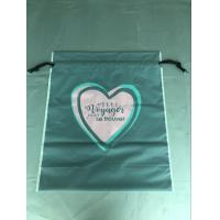 China Cpe Personalized Drawstring Bags Environmental Protection Customized Color wholesale