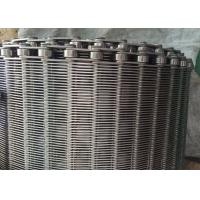 Quality Stainless Steel Flexible Flat Wire Mesh Conveyor Belt For Bread Industry for sale