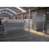 China Public Security Event Steel Temporary Fencing Weather Resistant And Durable wholesale