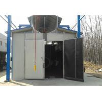 China Environmental Protection Shot Blasting Booth With Dust Removal System / Lighting Device wholesale