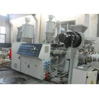 China PP PE Pipe Board Membrane Extrusion Equipment Single Screw With Low Noise Reduction Box wholesale