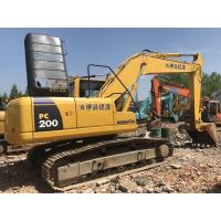 China Secondhand Komatsu PC200-8 (20 ton) Japan crawler hydraulic backhoe excavator wholesale