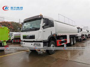 China FAW XinDaWei 25000L 6600 Gal 20Ton Fuel Refilling Truck with Dispenser wholesale
